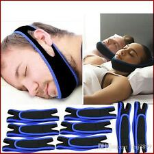 High Quality Anti Snoring Chin Strap Belt Stop Snore Device Apnea Jaw Support UK