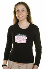 Just For You BO-TORTA_ T-shirt donna - colore Nero IT