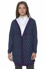 Ginger BO-124G1-9-1G_PURPLE Cardigan donna - colore Viola IT