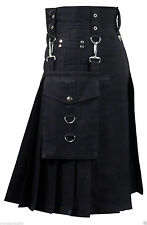 New Active Man Detachable Pockets Utility Kilts - Utility Kilt