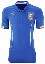 Italy Home Football Shirt Mens Official 14/16 Puma Italia Slim Fit Jersey FIGC