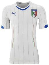 Italy Away Football Shirt Mens Official Team Jersey 14/16 Puma FIGC Italia Top