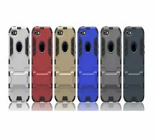 Defender Hybrid Armor With Stand Back Case Cover For★APPLE iPHONE 5/5S★
