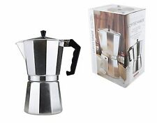 Classic Stainless Steel Traditional Continental Espresso Coffee Maker Percolator