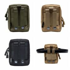 Outdoor Military Tactical Waist Bag Multifunctional EDC Molle Durable Belt Pouch
