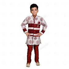 Hind Home Boys Festive & Party Sherwani and Churidar Set  (Pack of 1)