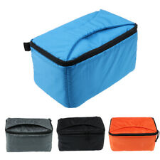 Shockproof DSLR SLR Camera Case Insert Cushion Partition Flexible Padded Bag