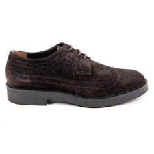 Versace 19.69 B1670 VELOUR T. MORO Brogue donna Marrone Scuro IT