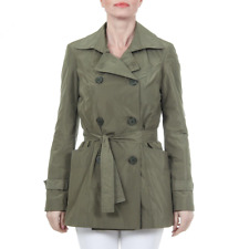 Versace 19.69 TRENCH CORTO NEW MEMORY VERDE Giacca donna Verde IT
