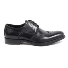 Versace 19.69 914 VITELLO NERO Brogue uomo Nero IT