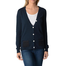 Fred Perry 31432026 9608 Cardigan donna Blu Scuro IT