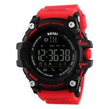 Digital impermeable reloj inteligente pulsera Bluetooth podómetro para