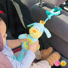 Peluche con Sonido y Pinza para Bebés Junior Knows disponible en varias opcione