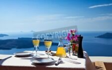 "Bild auf Forex: ""Table above sea for two  Greece, Santorini island"""