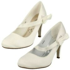 femmes Anne Michelle mariage / Nuptial chaussure avec noeud
