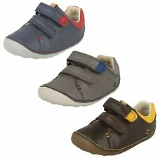 Infant Baby Toddler Boys Clarks Leather First Cruiser Shoes -  Tiny Toby