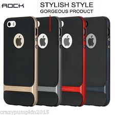 Apple iPhone 5/5S/SE Rock Royce Dual Layer PC+TPU Bumper Back Case Cover Frame