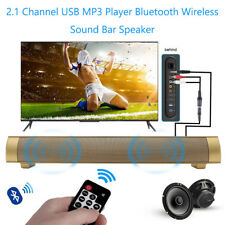 2.1 Canal MP3 Reproductor SUBWOOFER TV Remoto Bluetooth Inalámbrico Altavoz