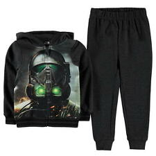 Boys Kids Official Star Wars Zip Up Hoodie & Joggers Outfit Set