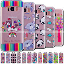 Protective Case Gel TPU Silicone Rubber Soft Cover Back For Samsung Galaxy Phone