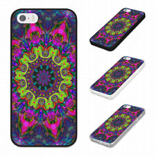 TRIPPY MULTI COLOURED TRENDY DESIGN Rubber Phone Case Cover Fits Iphone Models