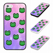 FUNKY TRENDY PINK SPACE FROG PATTERN Rubber Phone Case Cover Fits Iphone Models