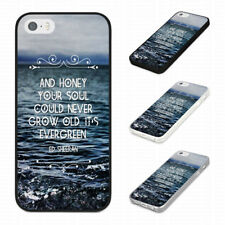 ED SHEERAN LYRICS YOUR SOUL EVERGREEN Rubber Phone Case Cover Fits Iphone Models