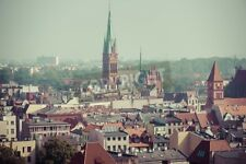 "Bildmotiv ""Old town skyline - aerial view from town hall tower."""