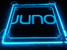 Juno sign Acrylic Led Super beautiful with AA Controller light 3 mode