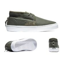 Mens Clear Weather Lakota Green Canvas Shoes RRP £69.99
