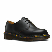 Dr Martens 1461 12877001 Black Quilon Made In England Shoes