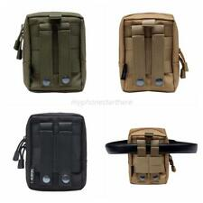 Outdoor Sports Bag Molle Waist Pack Multi-Function Pouch Tactical Military Bag