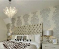 Matraders,4ft6 Colchester Style, DESIGN HEADBOARD, IN  CHENILLE, 26'' height,