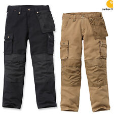 CARHARTT pantaloni uomo WASHED DUCK multipocket da lavoro Cargo Work Pant NUOVO