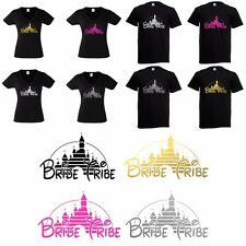 Disney Bride Tribe T-shirt or Diy Iron on Vinyl Transfer Wedding Hen Party To Be