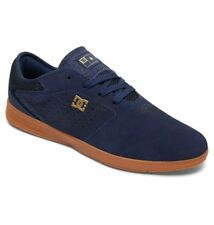 DC SHOES NEW JACK S NAVY GUM SKATE TRAINERS
