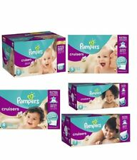 Pampers Cruisers Baby Diapers Size 3, 4, 5, 6, 7 CHEAP!!! NO TAX