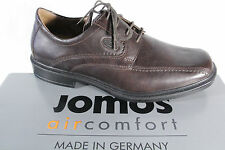 jomos Homme Chaussures à Lacets Basses Baskets Brun cuir NEUF