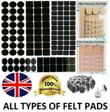 Self Adhesive Felt Furniture Pads Floor Wall Chair Scratch Protection Sticky Pad