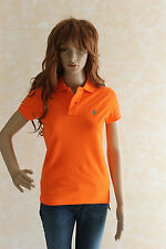 POLO Ralph Lauren Damen Poloshirt, orange, Gr.XS;M NEU