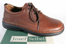 Seibel Homme Chaussures à Lacets Basses Sneakes marron, CUIR NEUF