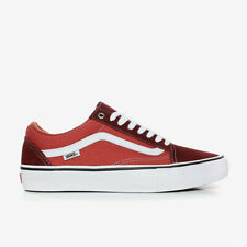 Vans Old Skool Pro Skate Schuhe - unisex Sneaker - Old School  ( two tone red )