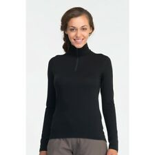icebreaker Oasis Long Sleeve Half Zip Women, black