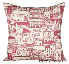 Sanderson St Ives Pink Cushion Cover