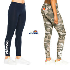 Ellesse Damen Leggings Solos Gym Fitness Sporthose Pants XS S M L XL