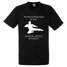 PHYSICS TEACHER BY DAY MARTIAL ARTIST BY NIGHT KARATE JUDO XMAS