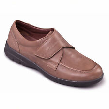 Padders Mens Solar 635N 21 Taupe Adjustable Strap Duel Fit Shoes