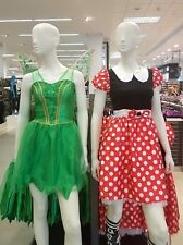 Disney Minnie Mouse Or Tinkerbell Fansy Dress Costume Outfit  UK Size 6-20 BNWT
