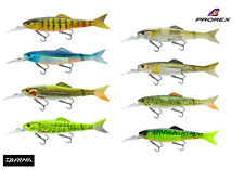 New Daiwa Prorex Hybrid Minnow 135 Lure with Spare Tail - All Colours