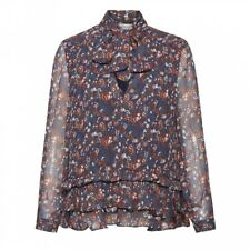 Great Plains Great Plains Highland Floral Tassle Womens Blouse